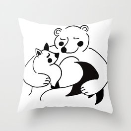 YOU'RE MY WARMTH Throw Pillow