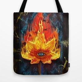 Rise and Fall Tote Bag