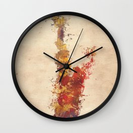 saxophone art Wall Clock