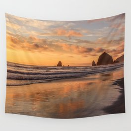 Sunset Stage Right Wall Tapestry