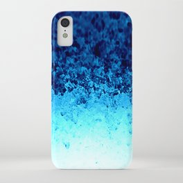 Blue Crystal Ombre iPhone Case