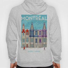 Montreal - Quebec - Canada Hoody