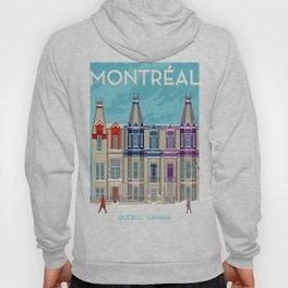 Montreal - Quebec - Canada Hoody