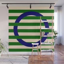 GEOMETRY BLUE&GREEN III Wall Mural