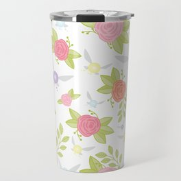 Garden of Fairies Pattern Travel Mug