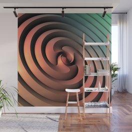 Spiraling One Wall Mural