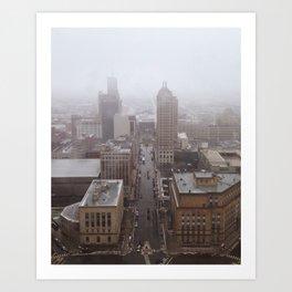 Buffalo, New York Art Print