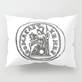 Coin Moneda Denario Denarius Pillow Sham