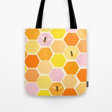 Busy As A Bee In A Hive Tote Bag