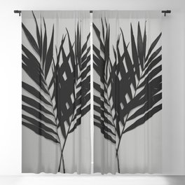 Palm Leaves #5 #foliage #decor #art #society6 Blackout Curtain