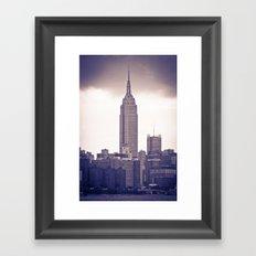 Urban Storm Framed Art Print