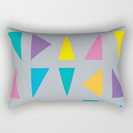 Colorful Corners Rectangular Pillow