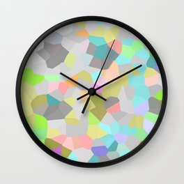 Crystallize 9 Wall Clock