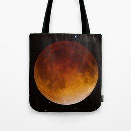Lunar Eclipse Close Up Tote Bag