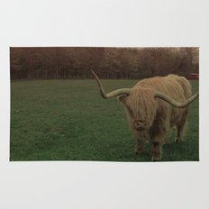 Scottish Highland Steer Rug