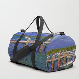 Boat Ramp To Paradise Duffle Bag