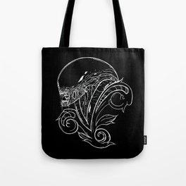Filigree Alien Xenomorph Tote Bag