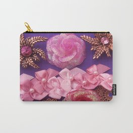 RIBBONS & FILIGREE Carry-All Pouch