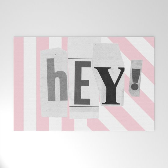 Hey! Pink and white stripes by phirst