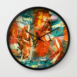 Arrival to the New World Wall Clock