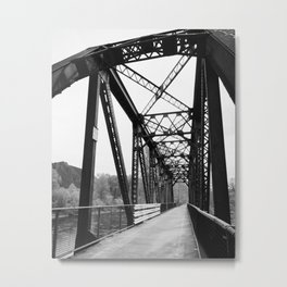 Three Forks Bridge Metal Print