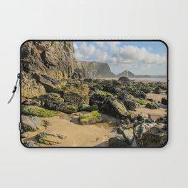 Watergate Bay - Rock Pools Laptop Sleeve