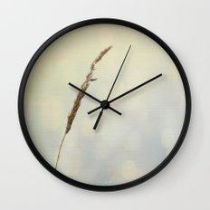 Reflections of a Summer Lake Wall Clock