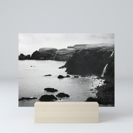 Azores coastal landscape Mini Art Print