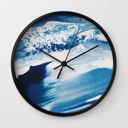 It Comes In Waves II Wall Clock