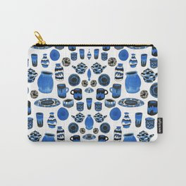 Cobalt Pottery Carry-All Pouch