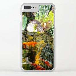turtle eden Clear iPhone Case
