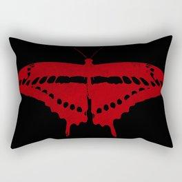 Textured butterfly Rectangular Pillow