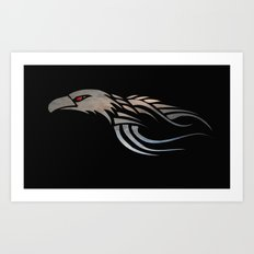 Eagles Soar Art Print
