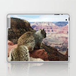 Squirrel Overlooking Grand Canyon Laptop & iPad Skin