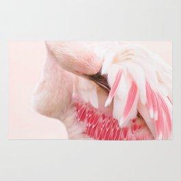 Flamingo pink Rug