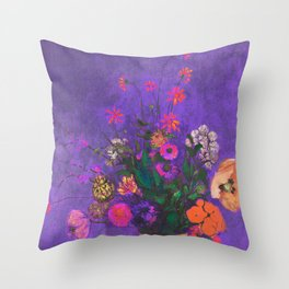 Tribute to summer Throw Pillow