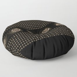 Abstract 17 001h Floor Pillow