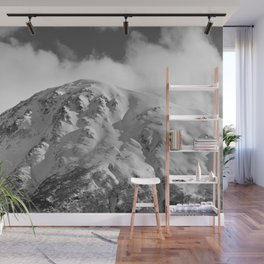 Snowy Alaskan Mountain - 2 Wall Mural