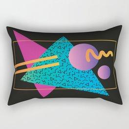 Memphis Pattern 24 - 80s / 90s Retro Rectangular Pillow