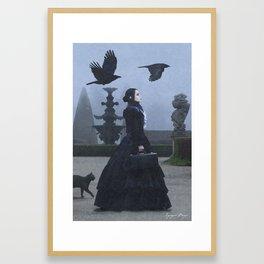 Lady Charlotte Nightshade Framed Art Print
