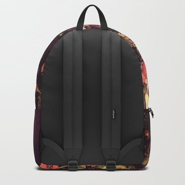 Bloom Skull Backpack