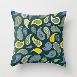Woodland Twirl Throw Pillow