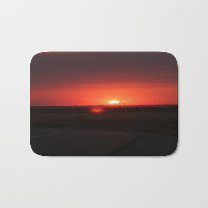 Sunset Highway Bath Mat