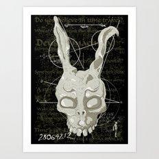 Frank's Prophecy Art Print