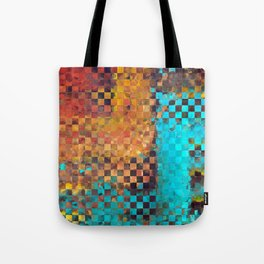 Abstract Modern Art - Pieces 1 - Sharon Cummings Tote Bag