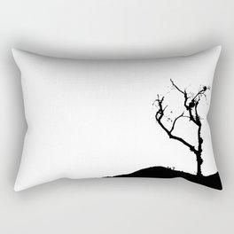 Dark Tree Rectangular Pillow
