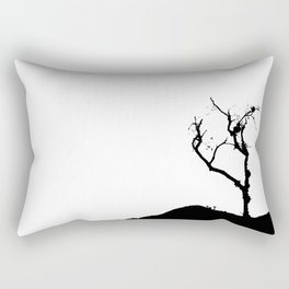 Dark Tree Rectangular Pillow