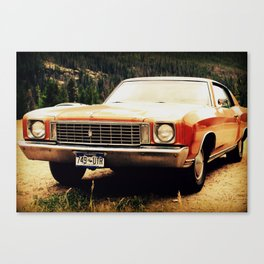 Riding in your car Canvas Print