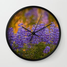 US Department of Agriculture - Lupine Wall Clock