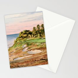 Whistling Straits Golf Course 17th hole Stationery Cards